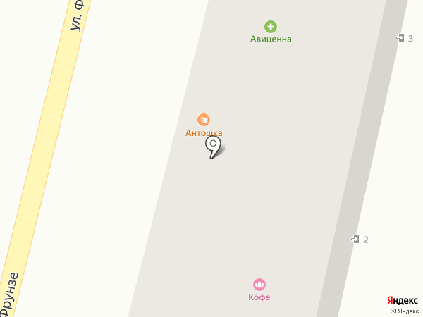 Катрин на карте Туапсе