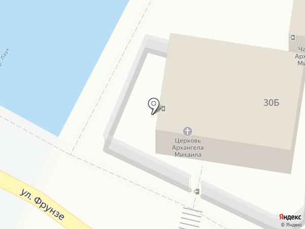 Православный храм Святого Архистратига Божьего Михаила на карте Туапсе
