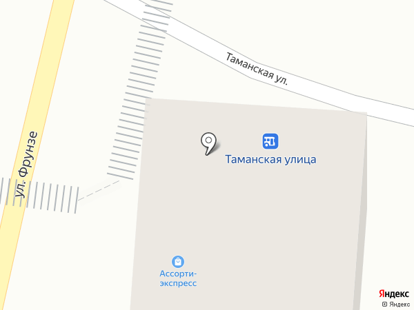Николь на карте Туапсе