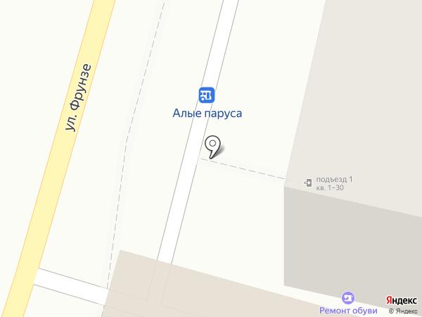 Продуктовый киоск на карте Туапсе