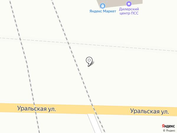 Интегро Плюс на карте Краснодара