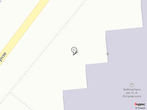 Детская библиотека №2 на карте Туапсе