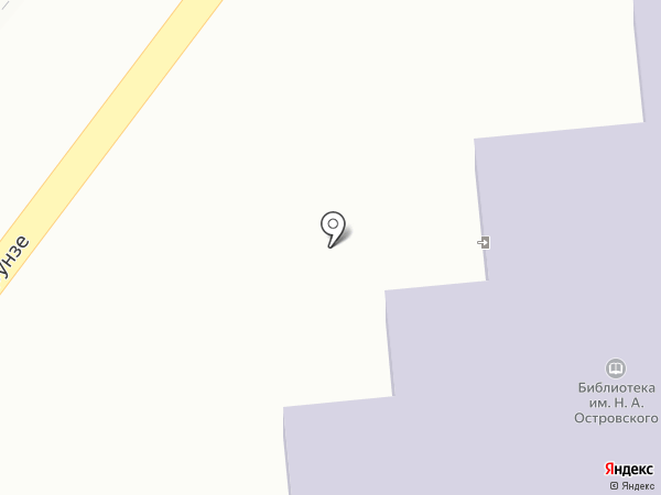 Библиотека им. Н. Островского на карте Туапсе