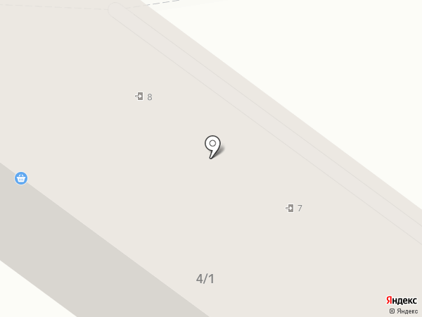 Адель на карте Туапсе