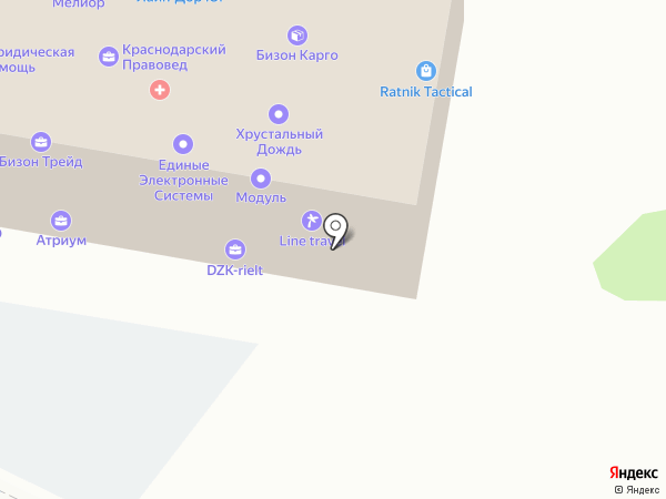 Горница на карте Краснодара