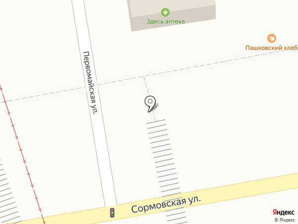 Что-то с чем-то на карте Краснодара