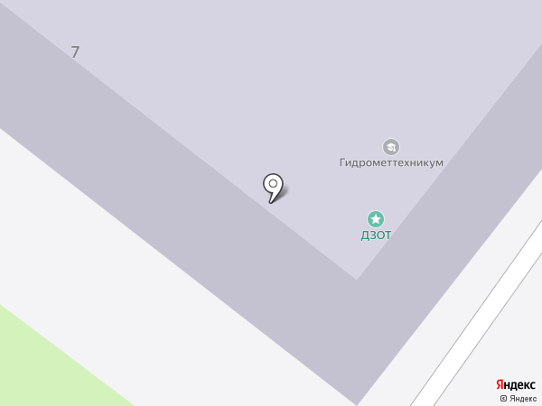 Туапсинский гидрометеорологический техникум на карте Туапсе