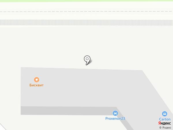 Владимир на карте Краснодара