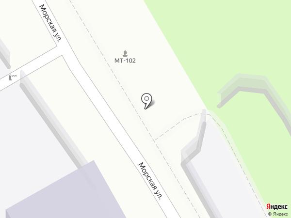 Политехник на карте Туапсе