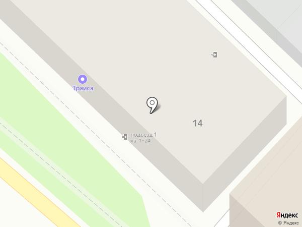 Траиса на карте Туапсе
