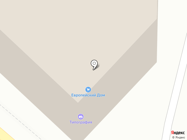 Туапсинская типография на карте Туапсе