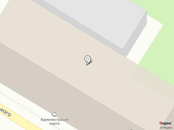 Администрация морского порта Туапсе на карте Туапсе