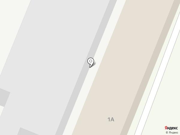 СШ № 6, МБУ на карте Туапсе