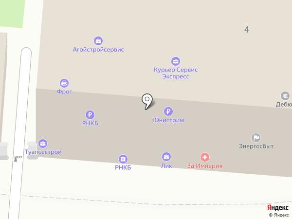 Справедливая Россия на карте Туапсе