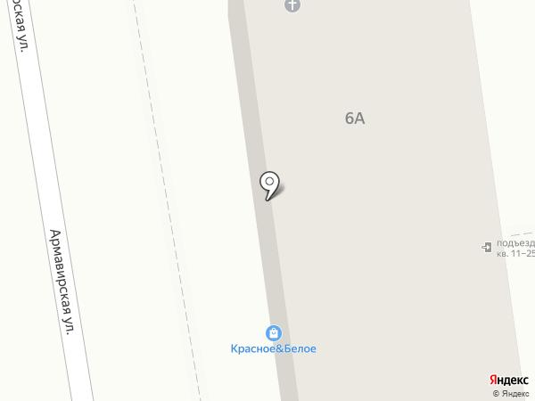 Защита на карте Туапсе
