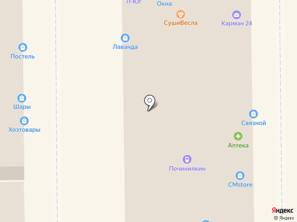 Asteri на карте Краснодара