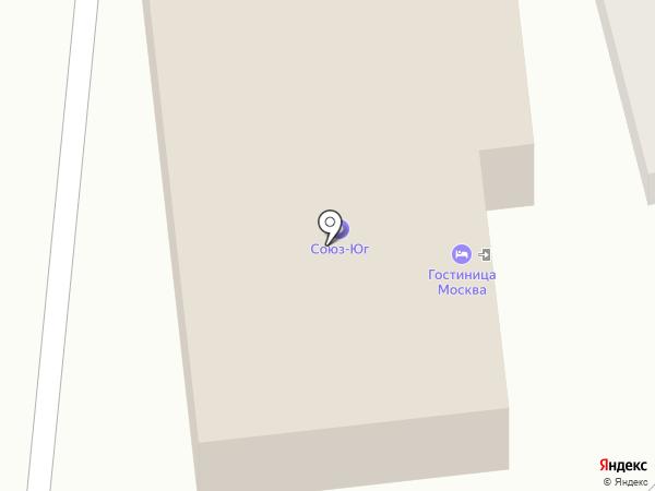 Москва на карте Туапсе