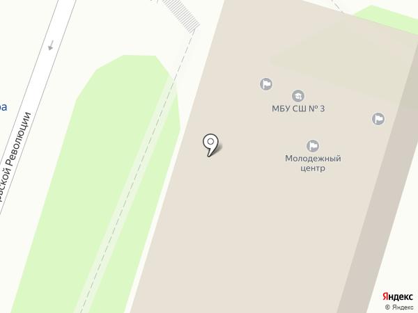 Молодежный центр Туапсинского района на карте Туапсе