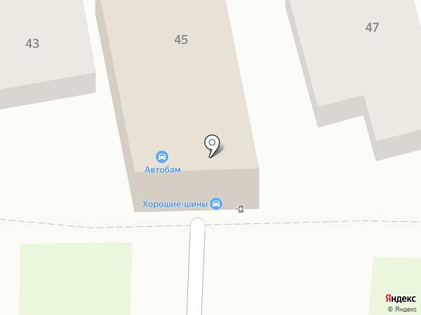 Три семерки на карте Краснодара