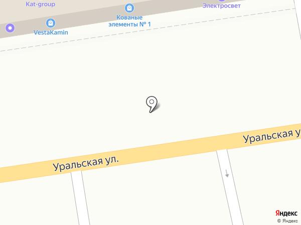 Сталь-Мастер на карте Краснодара