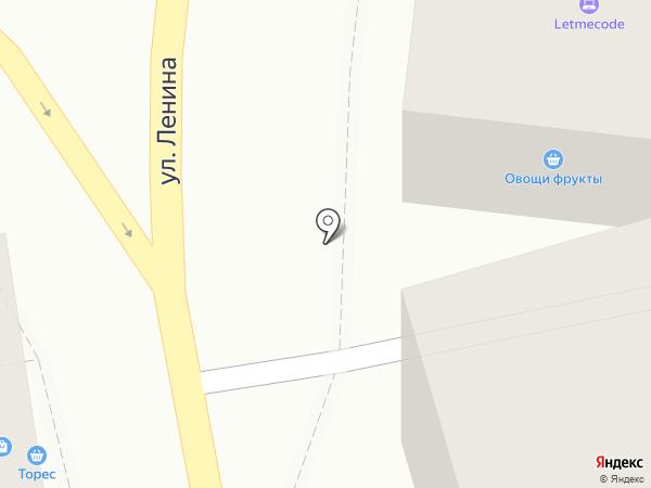 Sushi-вёсла на карте Туапсе