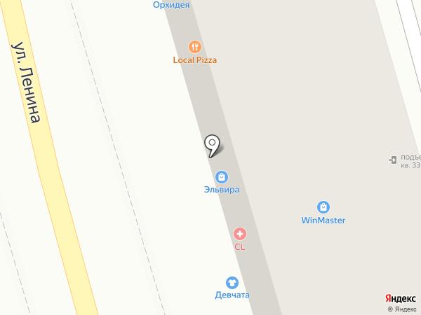 Шлейф на карте Туапсе