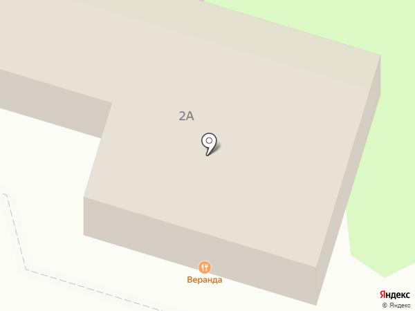 Веранда на карте Туапсе