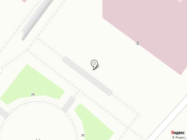 Детская городская поликлиника на карте Туапсе