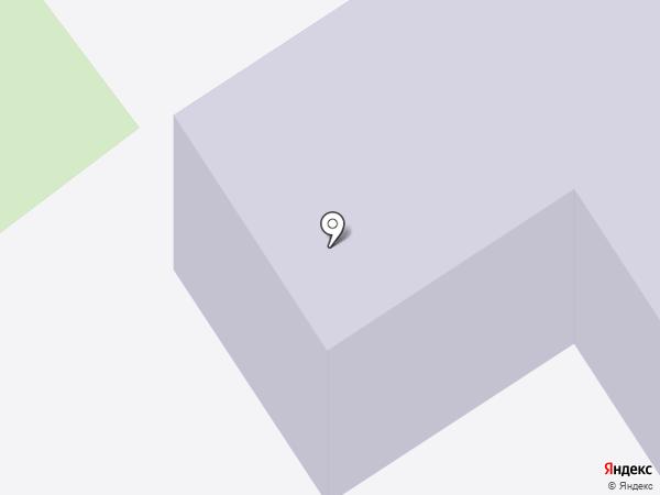 Средняя общеобразовательная школа №6 на карте Туапсе