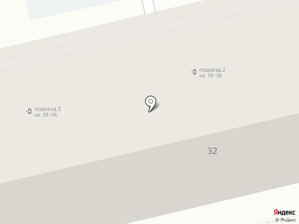 Красноармейский на карте Туапсе