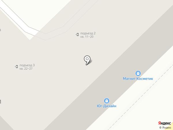 Селена на карте Туапсе