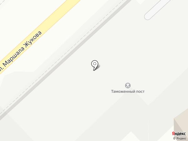 Цветочный дворик на карте Туапсе
