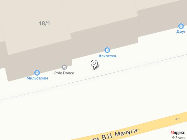 ДВЕРНАЯ ЛИНИЯ на карте Краснодара