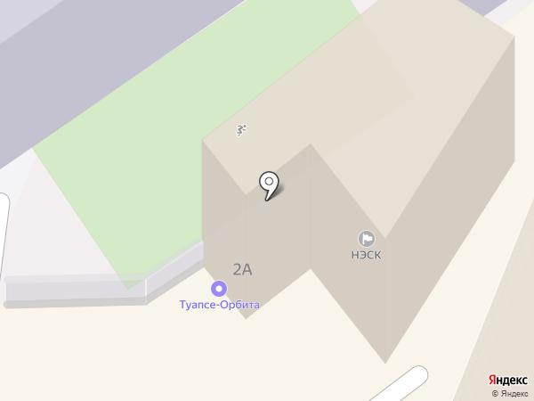 Туапсе-Орбита на карте Туапсе