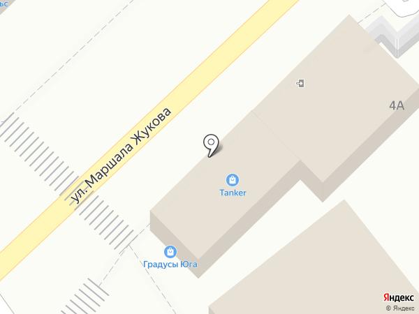 Магазин рыбной продукции на карте Туапсе