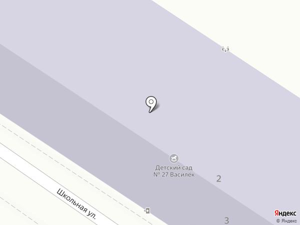 Детский сад №27 на карте Туапсе