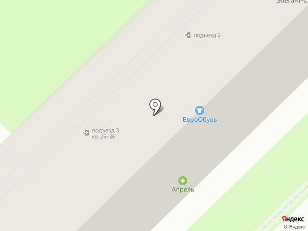 Элегант-С на карте Туапсе