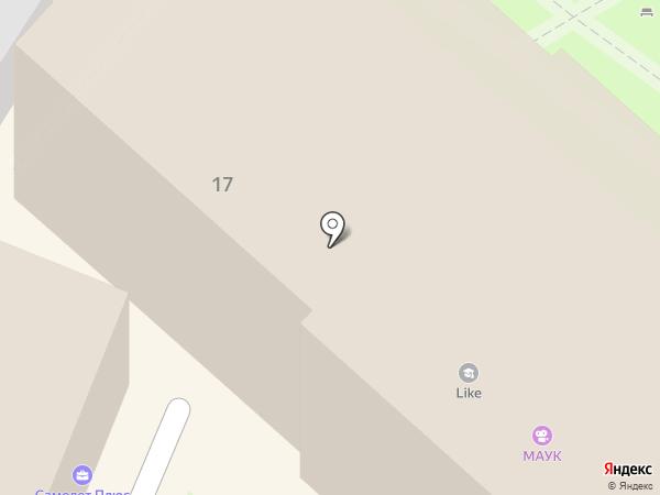 Россия на карте Туапсе