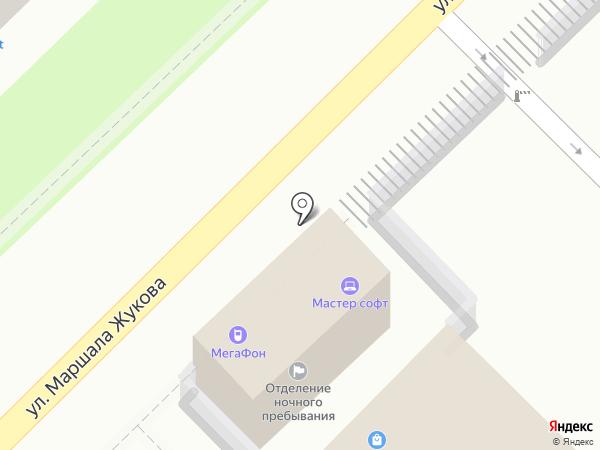 МегаФон на карте Туапсе