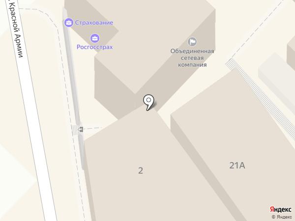 Санги Стиль на карте Туапсе