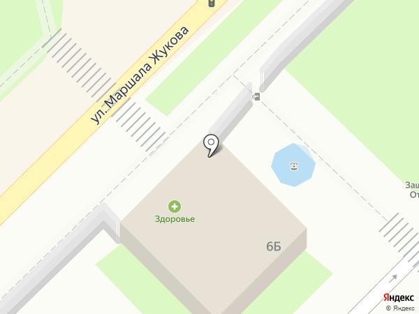 Маяк на карте Туапсе