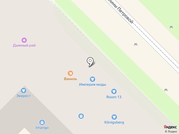 NSP на карте Туапсе