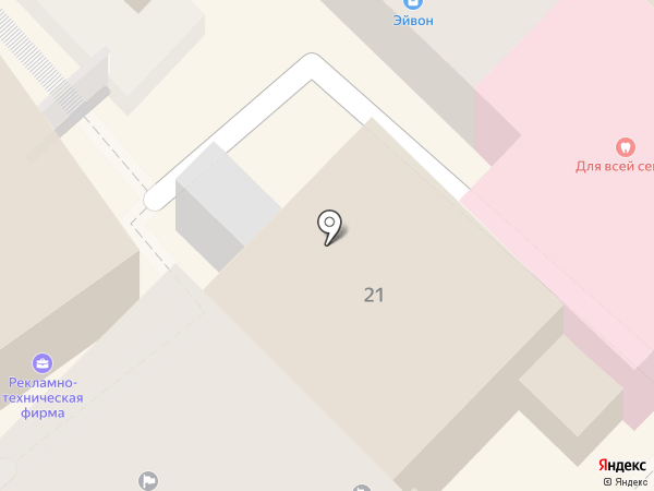 Ажен на карте Туапсе
