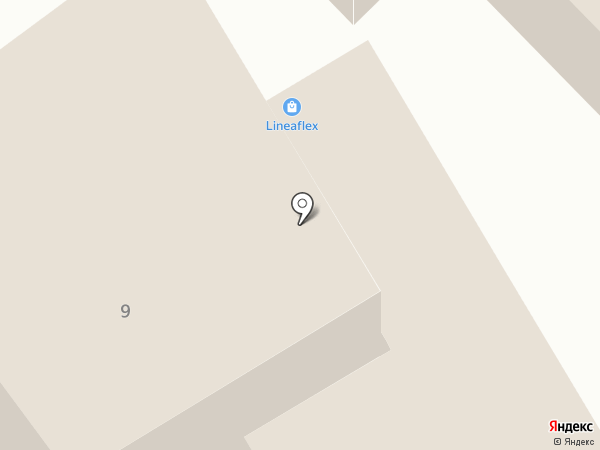 Мастерская по ремонту одежды на ул. Гагарина (г. Туапсе) на карте Туапсе