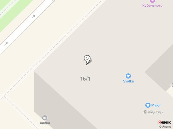 Золотой на карте Туапсе