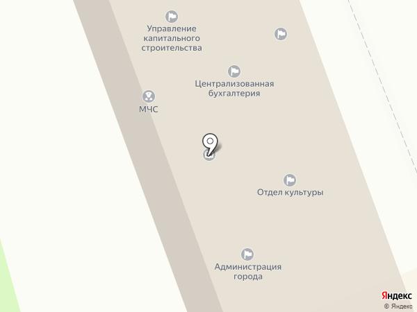 Участковый пункт полиции №1 на карте Туапсе