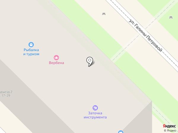 Vento на карте Туапсе