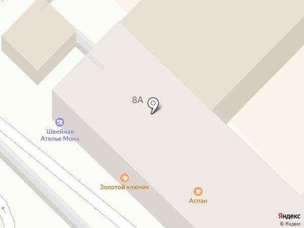 Пеликан на карте Туапсе
