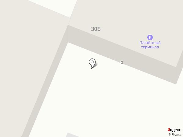 Каравай на карте Туапсе