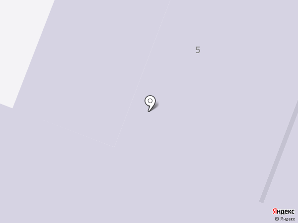 Средняя общеобразовательная школа №5 на карте Туапсе